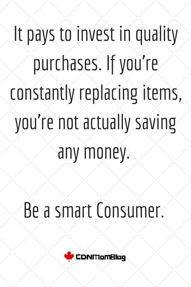 Be smart consumer.