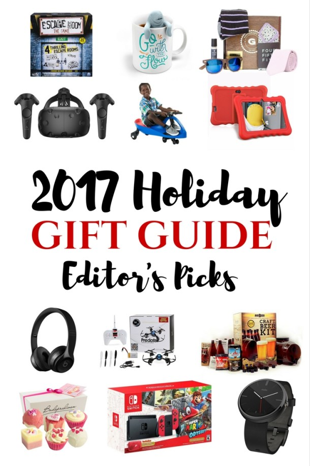 Canadian Mom Blogs 2017 Holiday Gift Guide - Gift's for her, him, and kids!