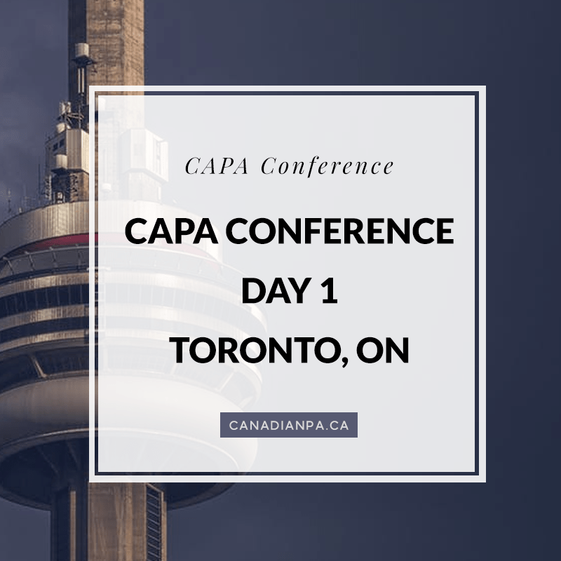 CAPA Conference Day 1