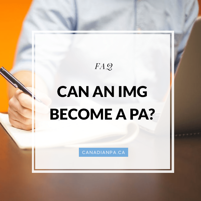 IMGs becoming Physician Assistants