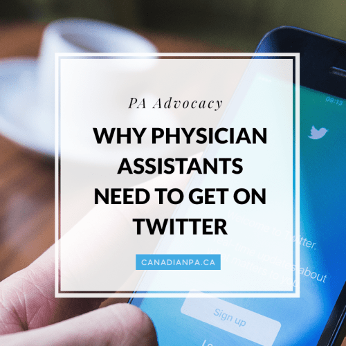Physician Assistants Twitter