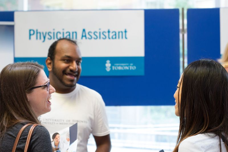 PA Consortium Physician Assistant Booth Info Session Anne Dang