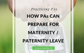 How Physician Assistants can prepare for Maternity Paternity Leave