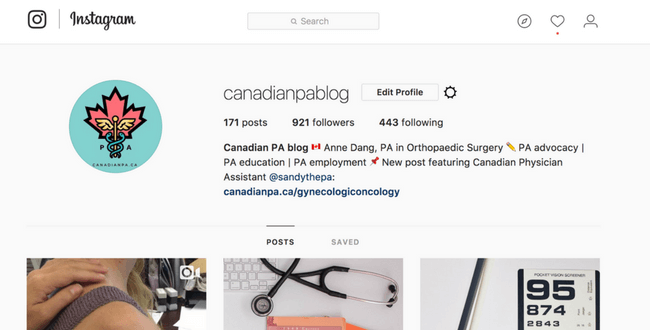 Physician Assistant Medical Instagram (1)