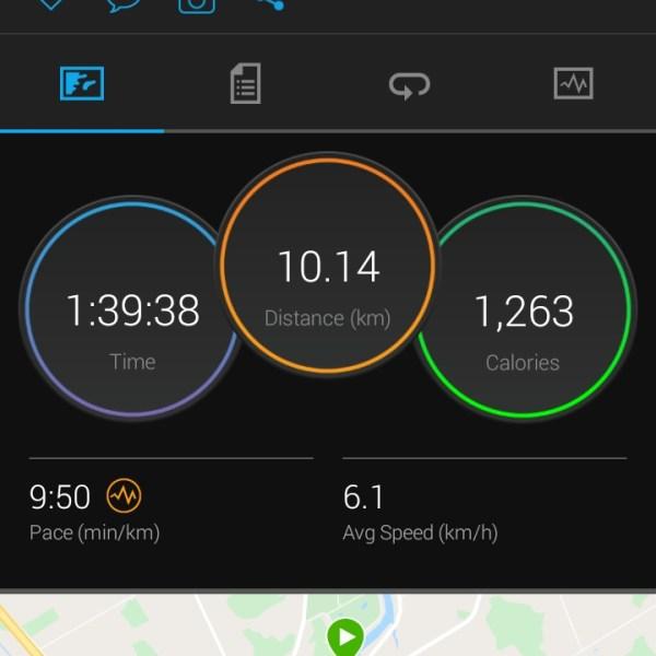 A tough way to get 39 km