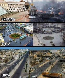 UkraineSyriaLibya