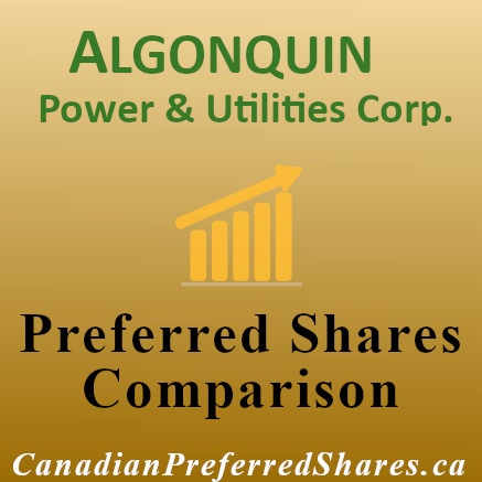 Rank Algonquin Power & Utilities Corp Preferreds - canadianpreferredshares.ca
