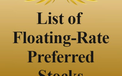 List of Floating-Rate Preferred Stocks