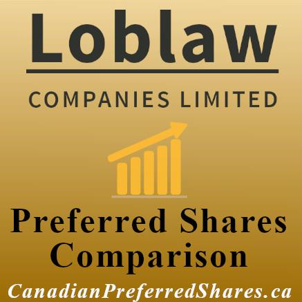 Rank Loblaw Companies Limited Preferreds https://canadianpreferredshares.ca