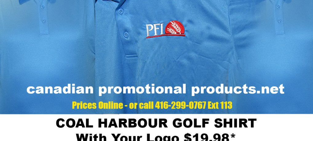 COAL HARBOUR GOLF SHIRT With Your Logo