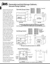 Cabinet Catalog Flam Acid Vac