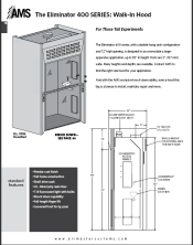 Catalog pages 400 Series Floor Mount