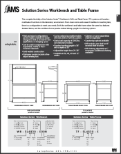 Catalog pages Workbench Tables