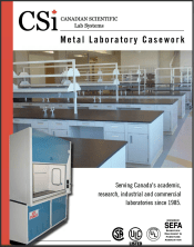 CSi Metal Laboratory Casework Catalog 2014-7