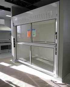 Floor Mount Fume Hood
