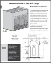 Eliminator 500 SERIES ADA Design