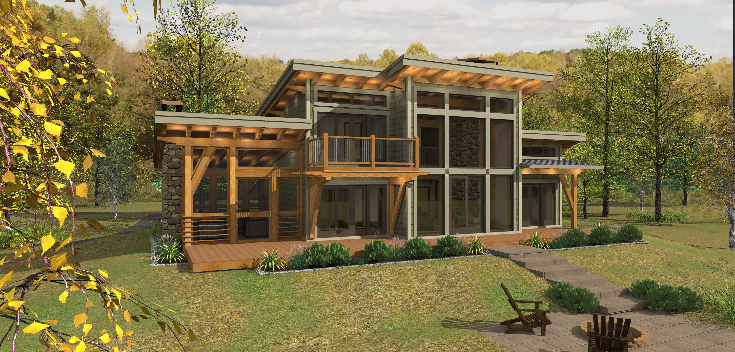 Timber Frame House Plans Canada House Design Plans