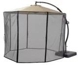 canvas netting for miramar offset patio umbrella