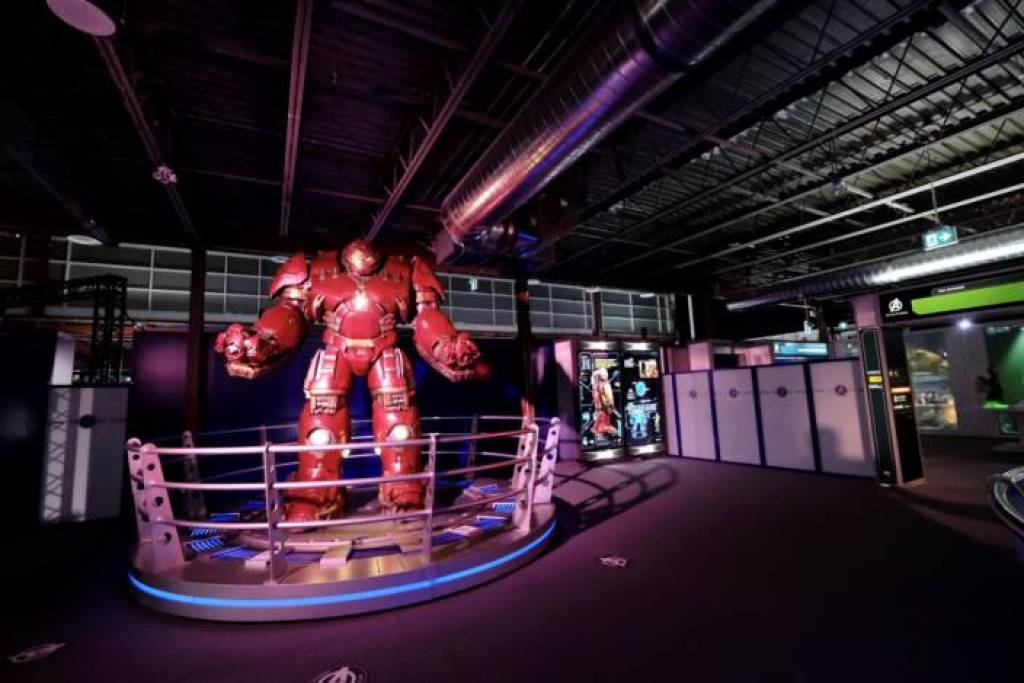 The Avengers S.T.A.T.I.O.N. attraction in Toronto. Jim Byers Photo