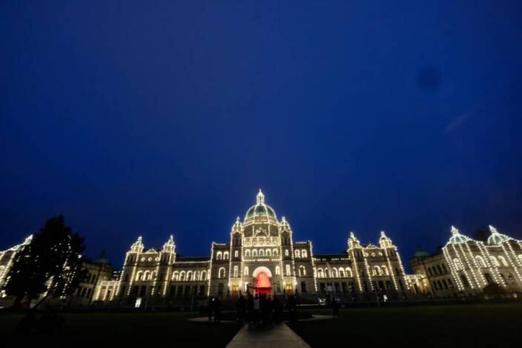 The B.C. legislature in Victoria. Jim Byers Photo