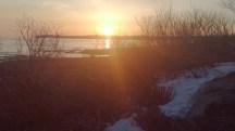 Le levé du soleil