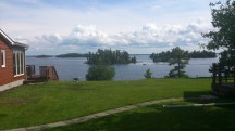 Rainy Lake near Fort Frances, ON