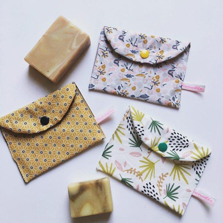 Pochettes à savon