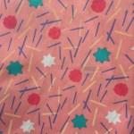 Rose confettis