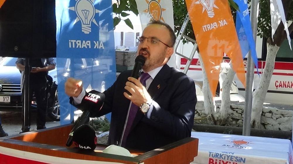 AK Parti Grup Başkanvekili Bülent Turan'dan CHP'ye tepki