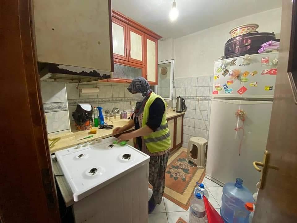 Çan belediyesinden temiz evler uygulaması