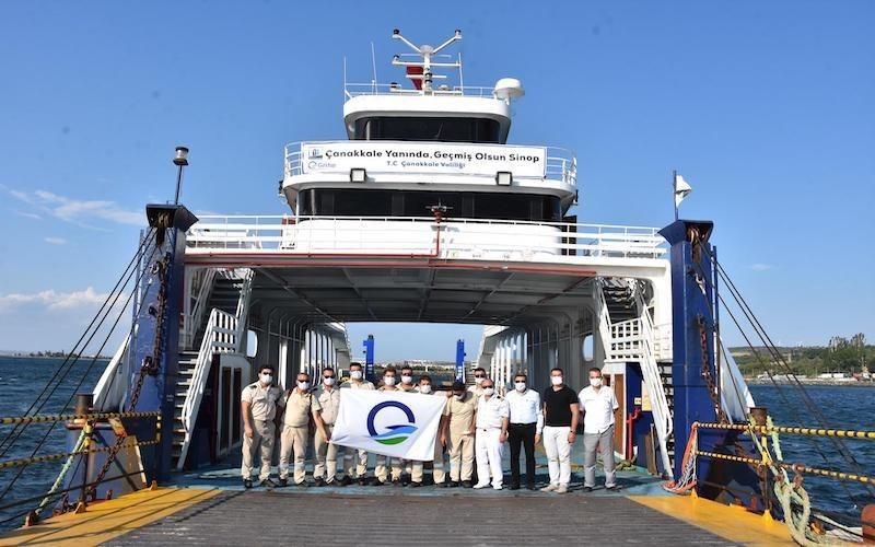 Çanakkale Valiliği'nden Sinop'a gemi desteği