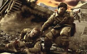 soldado ferido