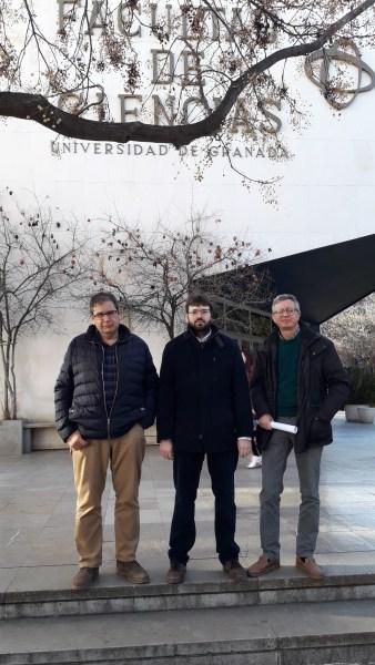 Enrique Ruiz Arriola, Ignacio Ruiz Simó y José Enrique Amaro Soriano