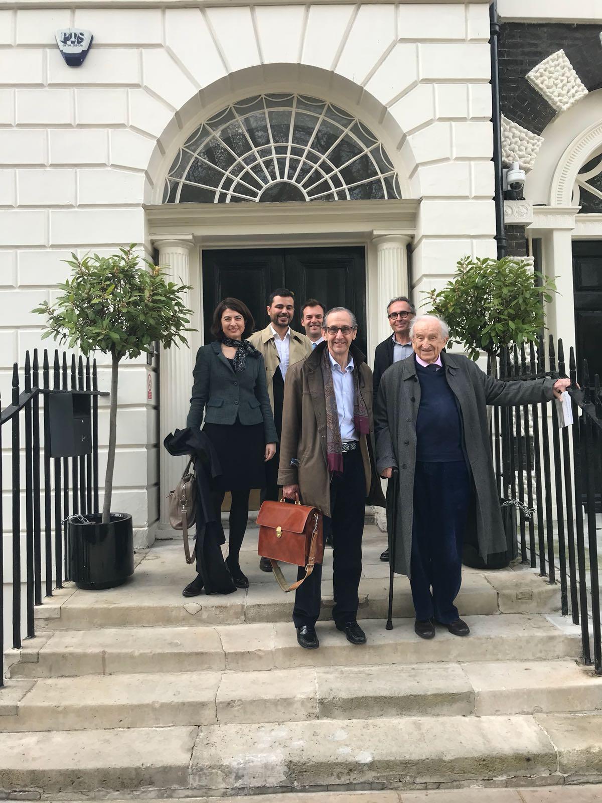 Javier Castañón Fariña defiende su tesis en Reino Unido