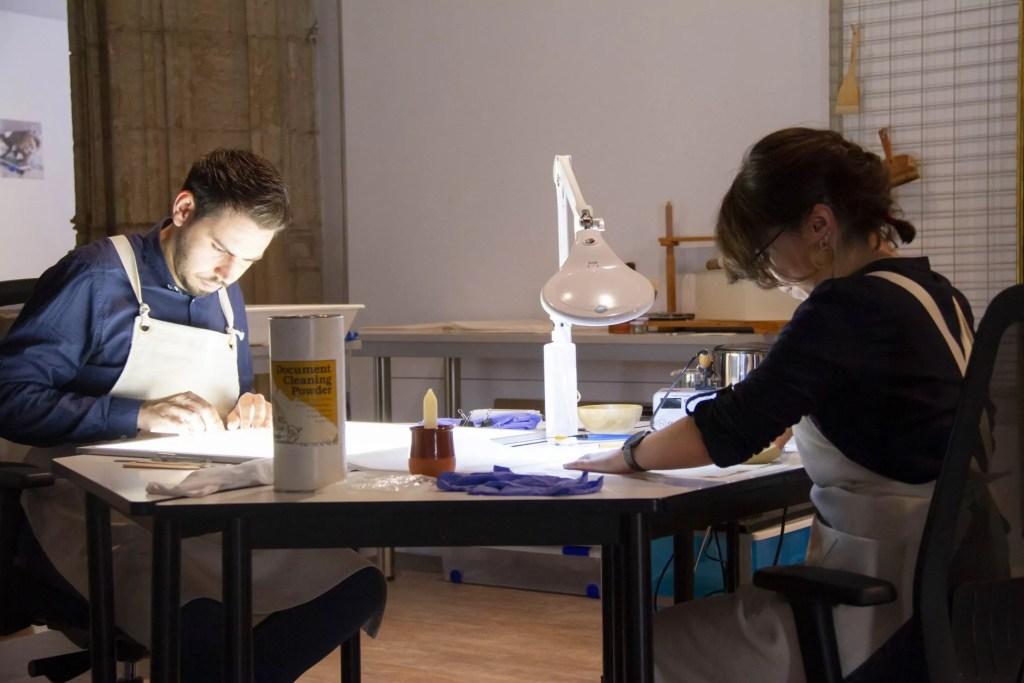 'La Universidad de Granada restaura (2015-2019)' expone el esfuerzo de la UGR por conservar y difundir su patrimonio