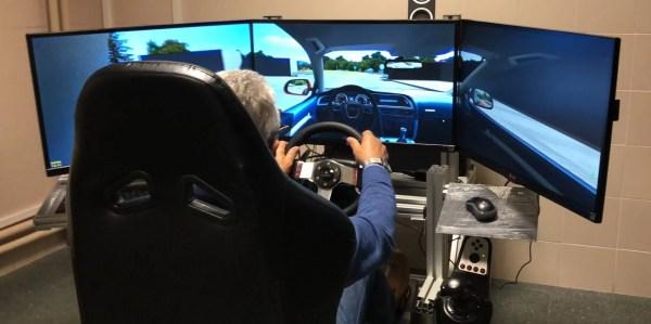 simulador conducir de forma segura