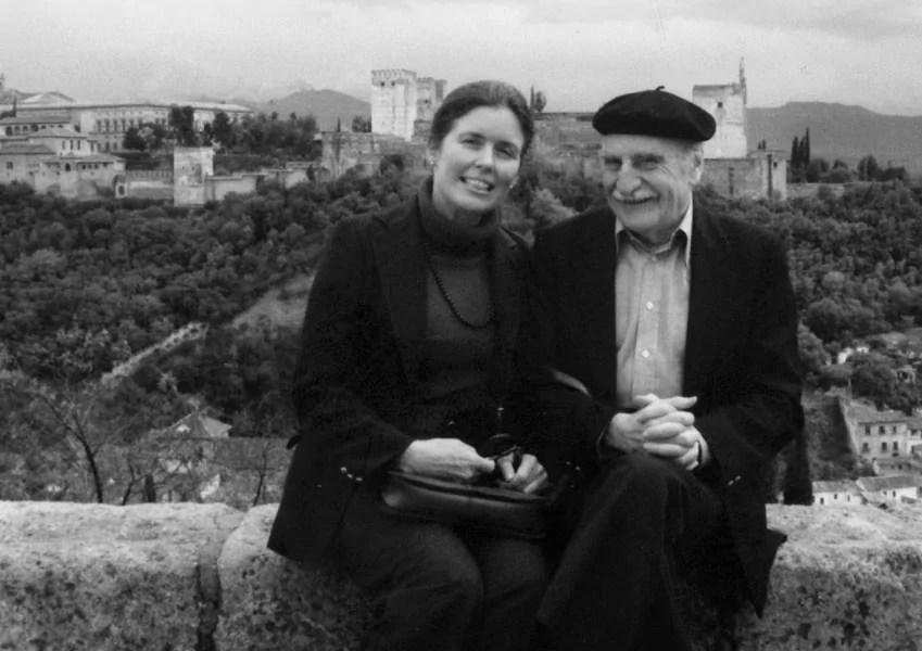 Carolyn Richmond y Francisco Ayala