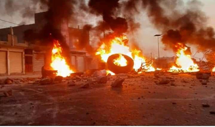 Image d'illustration de UGB greve feu.