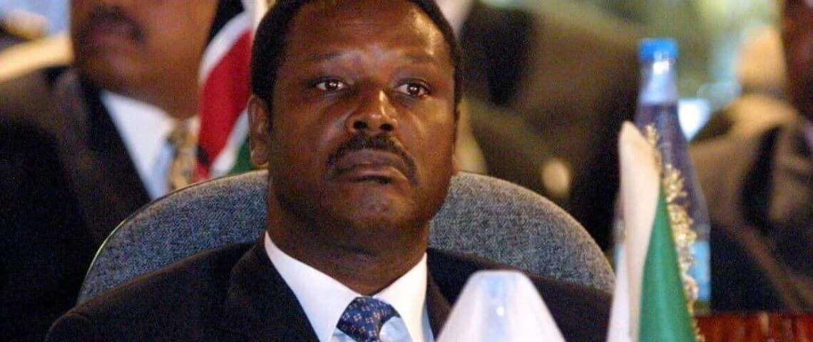 Burundi : l'ancien président Pierre Buyoya est décédé.