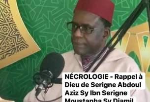 Serigne Abdoul Aziz Sy.