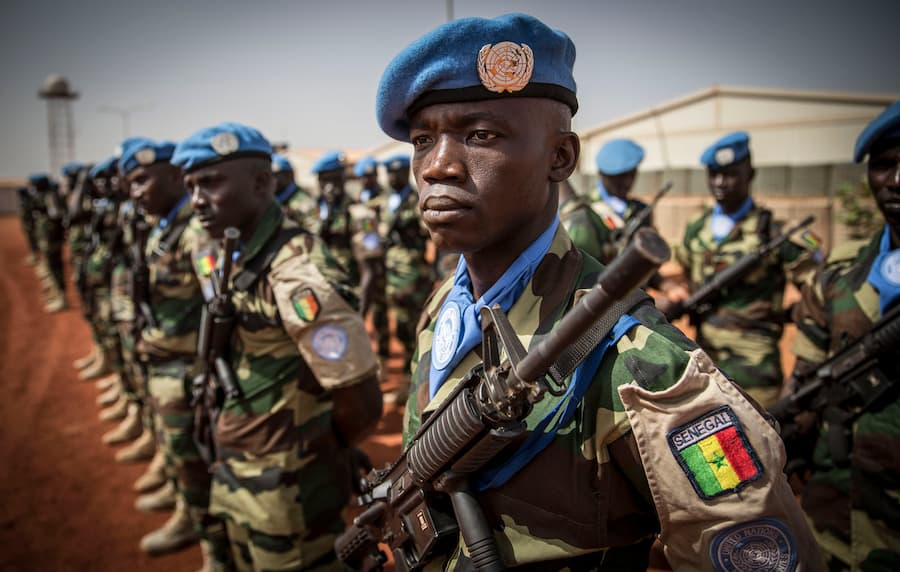 Mali : 7 soldats sénégalais de la Minusma blessés dans un accident.