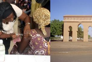 Vaccinationcovid-19 région de Louga, Sénégal.