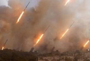 Tire de missile sur l'Israël