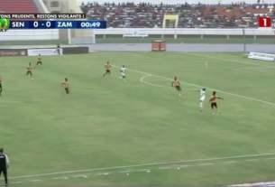 Match Sénégal vs Zambie