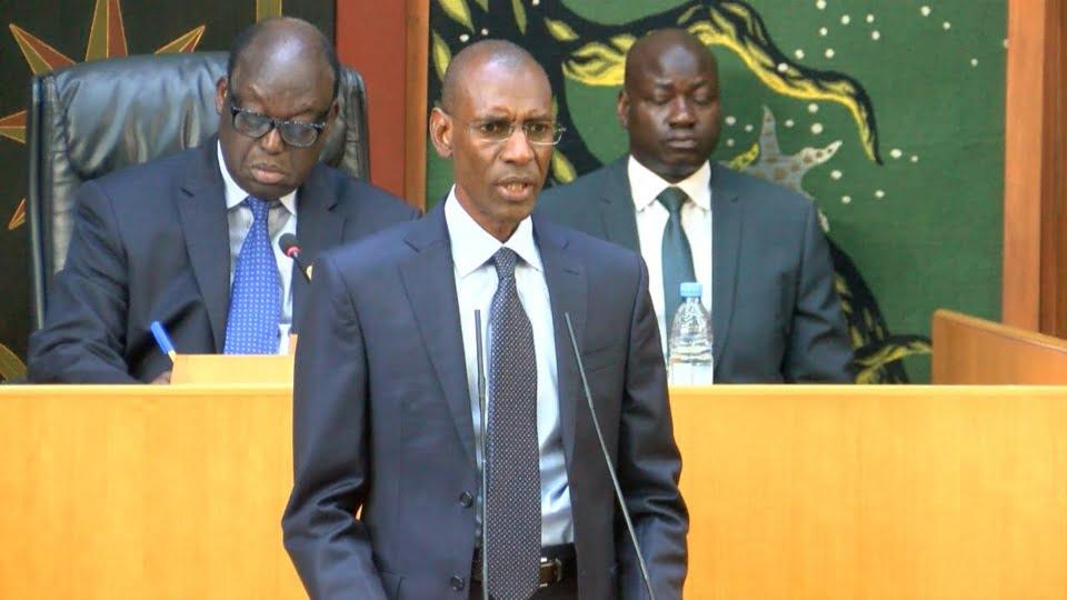 Abdoulaye daouda Diallo à l'assemblée natioanale