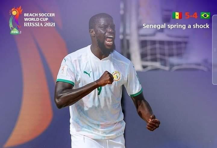 Mondial Beach Soccer : le Sénégal bat le Brésil