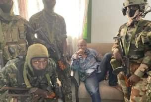 Alpa Condé arrestation par les putchistes.