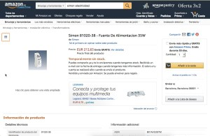Listing de Producto en Amazon pobre