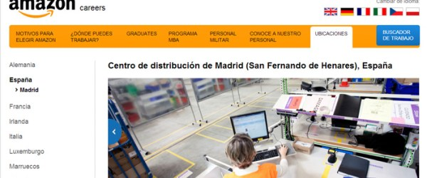 Empleos que genera Amazon