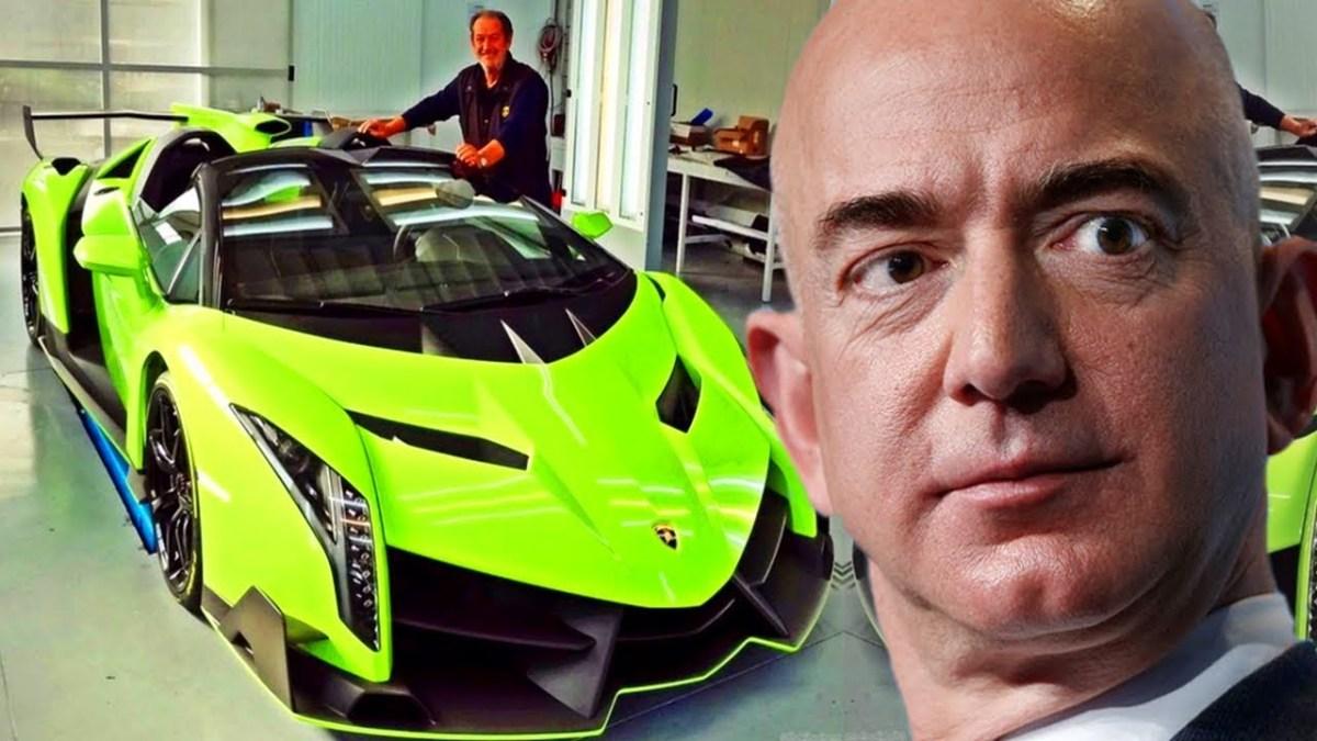 vende en amazon - regalan Lamborghinis